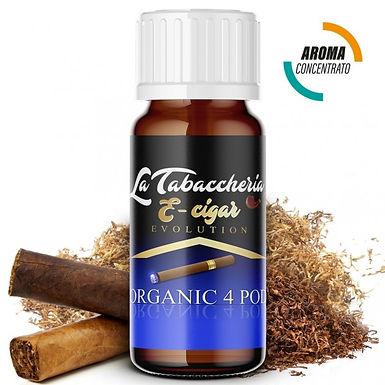 La Tabaccheria - Organic 4 pod - E-cigar - 10ml