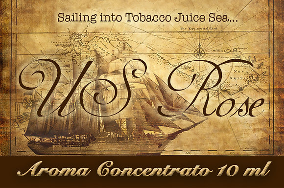 Blendfeel US Rose Selection – Aroma di Tabacco concentrato 10 ml.
