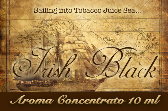 Blendfeel Irish Black Selection – Aroma di Tabacco concentrato 10 ml.