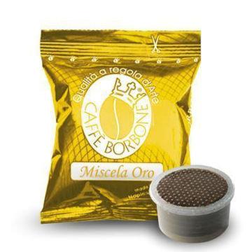 50 Capsule miscela ORO Caffè Borbone MACCHINE  Lavazza ®* Espresso Point