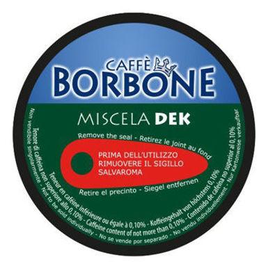 90 Capsule Caffè Borbone Miscela VERDE DEK Compatibili  Nescafé Dolce Gusto