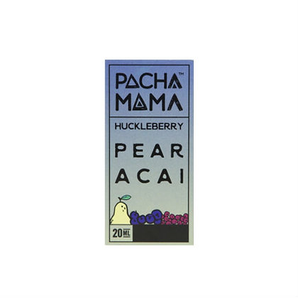 Pacha Mama Huckleberry Pear Acai Aroma Shot Series