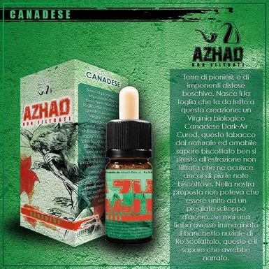 Azhad's Elixirs Aromi Non Filtrati Aromatizzati CANADESE  10 Ml.