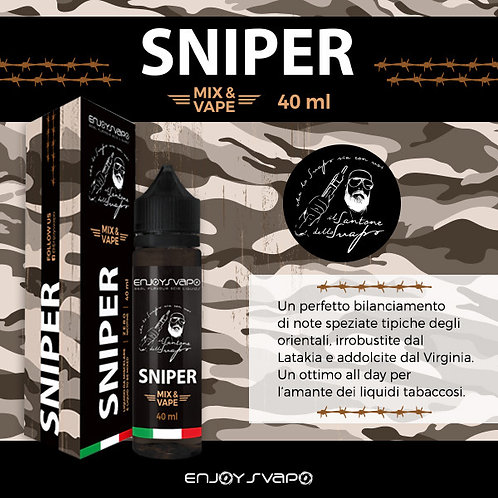 Enjoy Svapo SNIPER by Il Santone 40 Ml. Mix&Vape