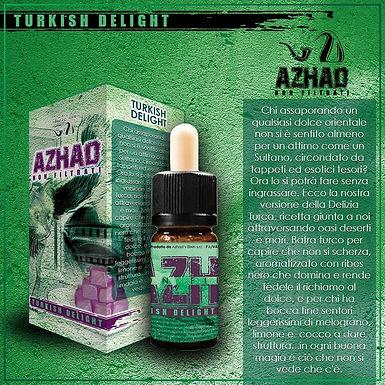 Azhad's Elixirs Aromi Non Filtrati Aromatizzati TURKISH DELIGHT  10 Ml.