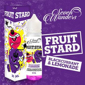 Seven Wonders  Fruitstard  Shot Series 20 Ml.