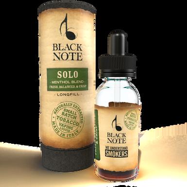 Black Note Longfill Solo MENTHOL BLEND 10 Ml. (10+20)