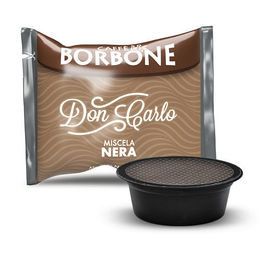 50 Capsule miscela NERA Caffè Borbone DON CARLO