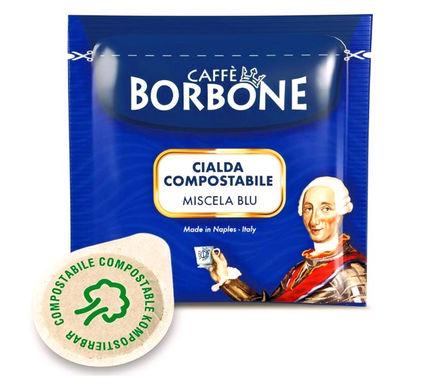 50 Cialde Miscela BLU Borbone Filtrocarta ESE 44mm