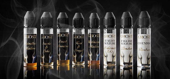 Vapor Cave Linea Ghost SWEET AMERICAN 20 Ml. Shot Series