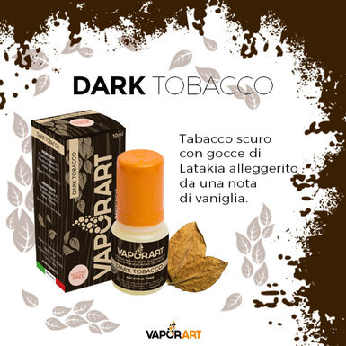 Vaporart Dark Tobacco 10 Ml.