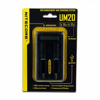 Nitecore Intellicharger UM20 LCD