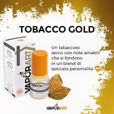Vaporart Tabacco Gold 10 Ml.