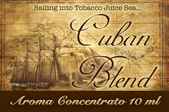 Blendfeel Cuban Blend – Aroma di Tabacco concentrato 10 ml.