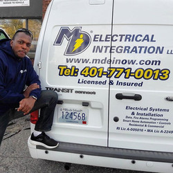 Vehicle Graphics for _mdelectrical. Turn your vehicle into a billboard... we can do it for you