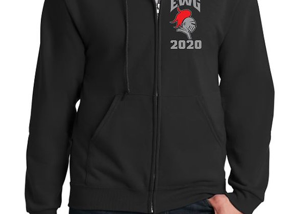 Full Zipper Hooded Sweatshirt