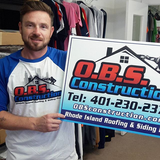 Another Happy Customer! 😀 Thank You _obsconstructionri For choosing us to print your apparel and si