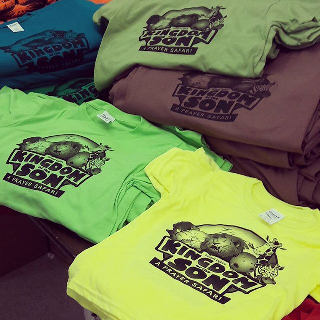 VBS T-Shirts ✔___#vbs2017 #vbs #vacationbibleschool  #rhodgraphics #rhodytees #customtshirts #screen