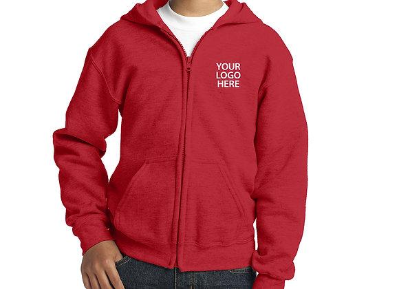 Youth Full Zip Hoodie