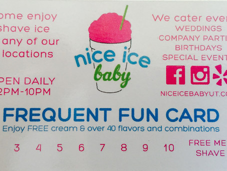 Frequent Fun Card