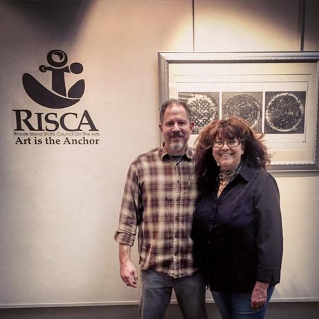 """RISCA show """"Street Scenes"""" Atrium Gallery Dec 2017"""