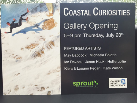 Invited show at Sprout Gallery, Providence RI