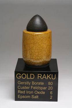 Gold Raku