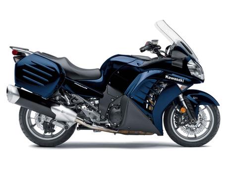 Kawasaki Concours 14 OEM Seat Mod