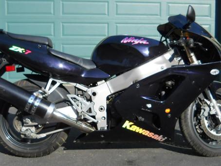 1995 Kawasaki ZX-7R Graphics Upgrade