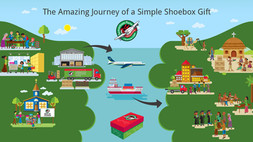 The Amazing Journey of a Simple Shoebox Gift