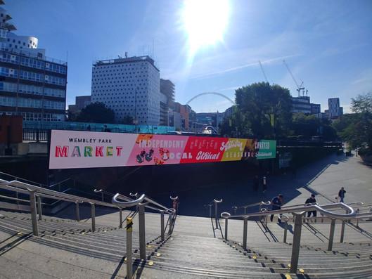 Wembley Park Market Signage