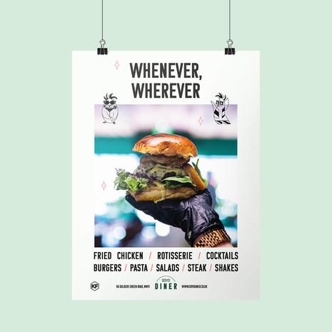 Soyo Diner Poster