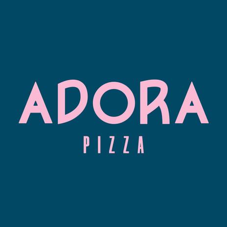 Adora Pizza Logo Design