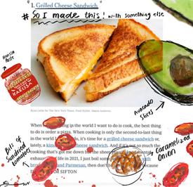 New Series of Food Illustration