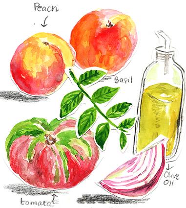 PeachSalad