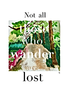 One of my favorite quotes! I love to walk in LA Arboretum which is very close to my house. So I decided to combine my favorite quote with my favorite spot in the Arboretum. You can buy this poster from my Etsy website.