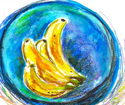 Bananna in Bowl