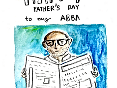 A comic on my dad !