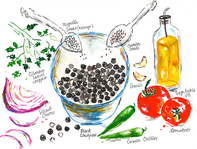 blackchickpeas recipe