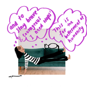 Personal Comic on Napping