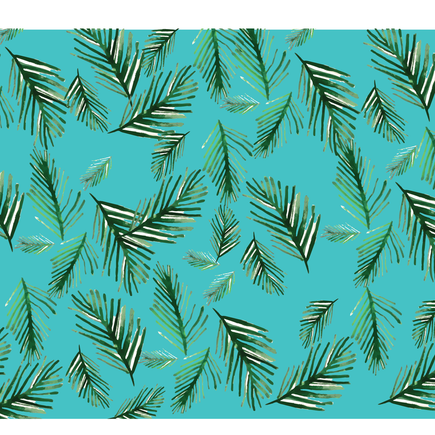 Pattern Pine Tree leaves