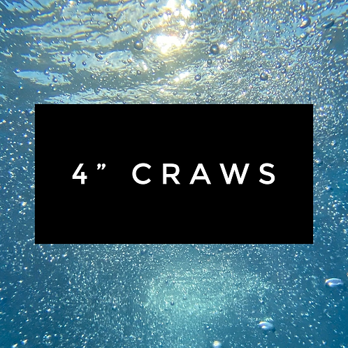"4"" Craws"