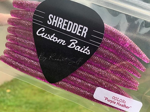 """""""Purple Heather"""" Stick Worm"""