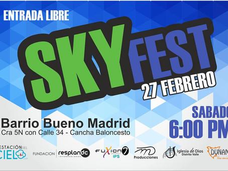 Primer Sky Fest del 2016