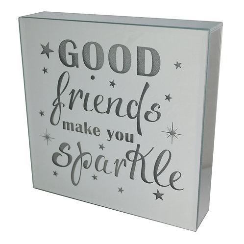 Light Up Block - Good Friends