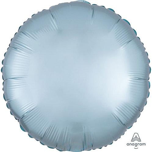 """18"""" Pastel Blue Round -  Anagram Balloon - Helium Filled"""