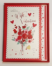 wife valentines boxed greeting card