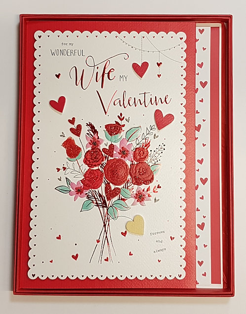 Wife Valentines Boxed Card