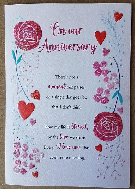 Eternal Range - On Our Anniversary Card