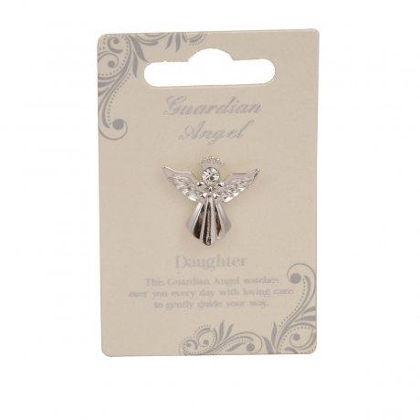 Guardian Angel Pin - Daughter